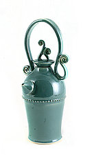 Robins Egg Blue Teapot by Carol Tripp Martens (Ceramic Teapot)