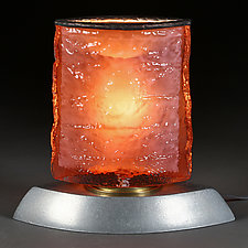 Auburn Aurora (Studio Prototype) Lamp by Eric Bladholm (Art Glass Table Lamp)