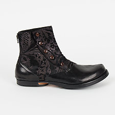 Embossed Boot (Size 9.5) by CYDWOQ  (Leather Boot)