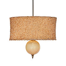 Marjorie Pendant by Susan Kinzig and Caryn Kinzig (Mixed-Media Pendant Lamp)