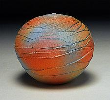 Rainbow Scallop by Nicholas Bernard (Ceramic Vessel)