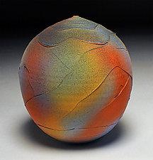Rainbow Wrap by Nicholas Bernard (Ceramic Vessel)