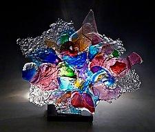 Shawsheen by Caleb Nichols (Art Glass Sculpture)