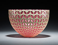 Petal Bowl by Carrie Gustafson (Art Glass Bowl)