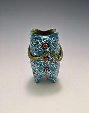 Expectations 4 by Lilia Venier (Ceramic Vase)