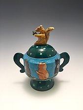 So Close, Yet So Far by Lilia Venier (Ceramic Vessel)