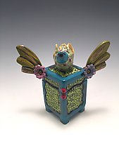 Soaring to New Heights by Lilia Venier (Ceramic Box)