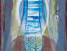 The Periphery Of The Deer by Heidi Daub (Acrylic Painting)