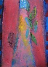 Green Leaf by Heidi Daub (Acrylic Painting)