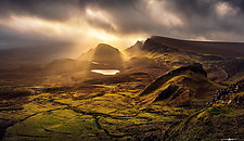 Trotternish Ridge Light by Matt Anderson (Color Photograph)