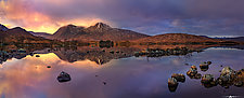 Lochan na h-Achlaise #1 by Matt Anderson (Color Photograph)