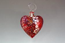 Be My Valentine by Bryce Dimitruk (Art Glass Ornament)
