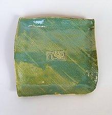 Textured Slab Matzoh Plate by Janine Sopp (Ceramic Plate)