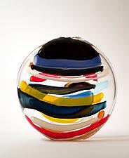 Charon II by Bengt Hokanson and Trefny Dix (Art Glass Sculpture)