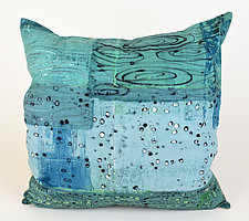 Rainy Day Pillow by Ayn Hanna (Cotton & Linen Pillow)