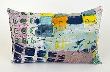 Street Smart 2 Pillow by Ayn Hanna (Cotton & Linen Pillow)
