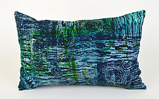 Tide Pools 2 Rectangle Pillow by Ayn Hanna (Cotton & Linen Pillow)