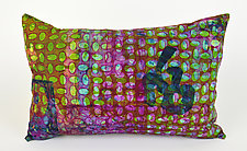 Bohemian Medley 2 Pillow by Ayn Hanna (Cotton & Linen Pillow)