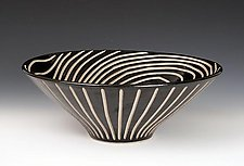 Wedge Bowl by Larry Halvorsen (Ceramic Bowl)