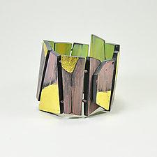 Tectonic Bracelet by Lindsay Locatelli (Polymer Clay Bracelet)