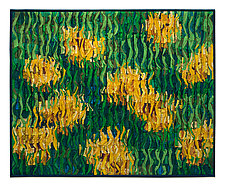 Marigolds by Tim Harding (Fiber Wall Hanging)
