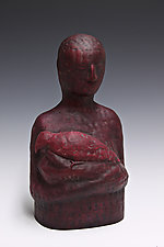 Red by Beth Ozarow (Ceramic Sculpture)