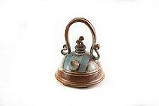 Soft Beige Teapot by Carol Tripp Martens (Ceramic Teapot)