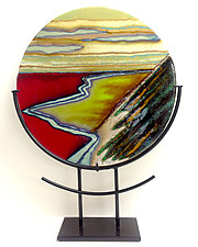 The Journey by Anne Nye (Art Glass Sculpture)