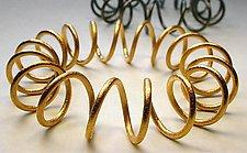 Coil Armpiece by Emanuela Aureli (Metal Bracelet)