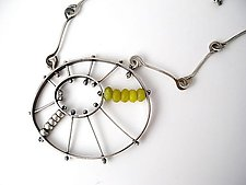 Kinetic Burst Pendant by Erica Stankwytch Bailey (Silver & Stone Necklace)