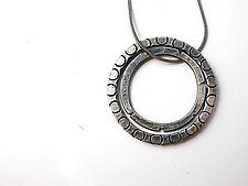 2 Ring Pendant by Erica Stankwytch Bailey (Silver Necklace)