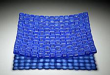 Blueberry by Robert Wiener (Art Glass Platter)