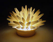 Spikes Mini-Light by Lilach Lotan (Ceramic Lamp)