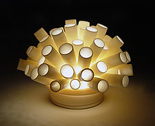Tubes Mini-Light by Lilach Lotan (Ceramic Lamp)
