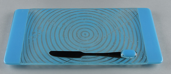 Small ColorCentric Blue Serving Plank
