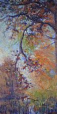 Crystalline Sky by Dorothy Fagan (Mixed-Media Painting)