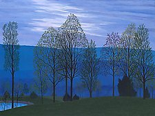 Blue Evening by Jane Troup (Giclee Print)