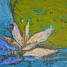 Lotus by Dorothy Fagan (Oil Painting)