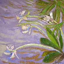 Orchid by Dorothy Fagan (Oil Painting)