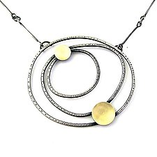 Constellation Necklace by Lisa Crowder (Gold & Silver Necklace)
