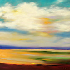 Passing Cloud by Mary Johnston (Oil Painting)