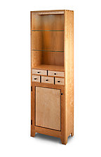 Curio Cupboard by Tom Dumke (Wood Cabinet)