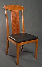 Lyra Chair by David Kellum (Wood Chair)