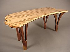Ambrosia by Bill Palmer (Wood Console Table)