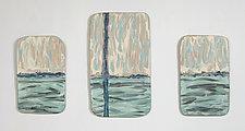 Skyline by Kristi Sloniger (Ceramic Wall Sculpture)