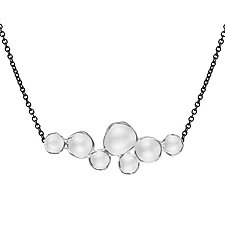 Medium Cloud Pendant by Sarah Richardson (Silver Necklace)