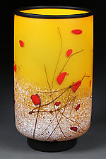Satin Staccato by Eric Bladholm (Art Glass Vessel)
