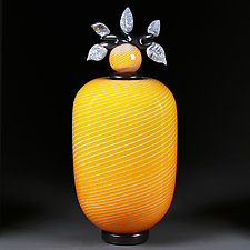 Zoloti Polya (Golden Fields) by Eric Bladholm (Art Glass Vessel)