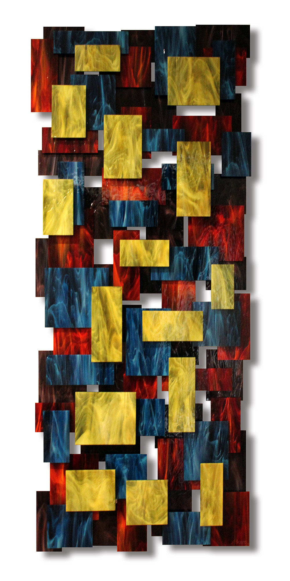 Elevate by Karo Martirosyan (Art Glass Wall Sculpture) | Artful Home