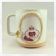 The Royal Collection - Sir Monkey by Chris Hudson and Shelly  Hail (Ceramic Mug)